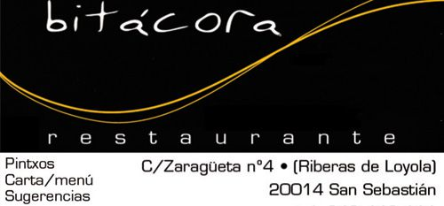 Bitácora Restaurante